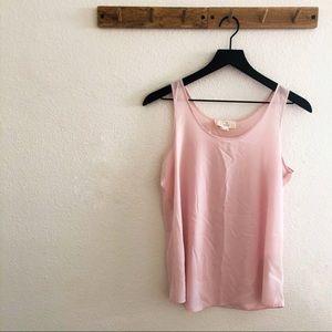 Pink Republic Pink Chiffon Tank Top